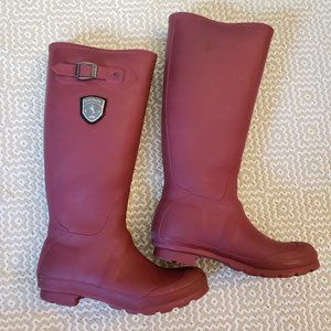 Kamik Jennifer Maroon Rain Boot Size 8